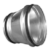 Reducers RCLU Symmetric with sealing rubber