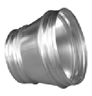 Reducers RCL symmetric without sealing rubber